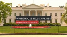 White House May Suspend All Flights To China