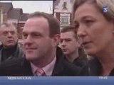 FN - Marine Le Pen et Steeve Briois - F3 - 07/02/2008