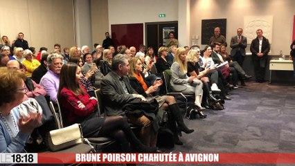 Brune Poirson chahutée à Avignon