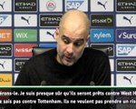 """25e j. - Guardiola: """"Laporte et Mendy ne sont pas prêts"""""""