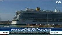 Possible Coronavirus Cases Docked Cruise at Italy