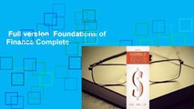 Full version  Foundations of Finance Complete
