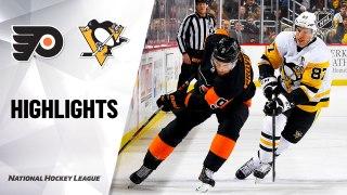 NHL Highlights   Flyers @ Penguins 1/31/20