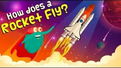 How Does A ROCKET FLY   How Do Rockets Work   ROCKET LAUNCH   The Dr Binocs Show   Peekaboo Kidz