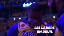 """L'ultime et poignant hommage de la """"Lakers Nation"""" à Kobe Bryant"""