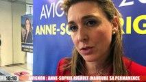 Avignon : Anne-sophie Rigault inaugure sa permanence