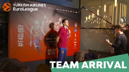 First steps in Cologne: FC Barcelona