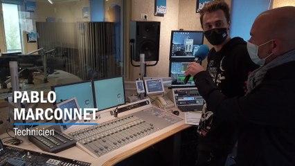 Fête de la Radio - France Bleu Sud Lorraine : Le studio de production