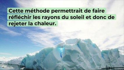 Arctique : Le verre, la solution pour retarder la fonte des glaces ?