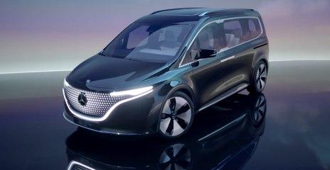 VÍDEO: MERCEDES EQT, esta es la nueva furgoneta 100% eléctrica