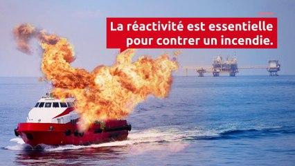 Comment maîtriser un incendie en mer ?