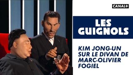 Kim Jong-Un sur le divan de Marc-Olivier Fogiel - Les Guignols - CANAL+