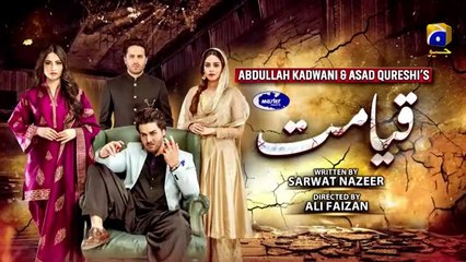Qayamat | Episode 39  - 19th May 2021 - Har Pal Geo