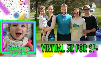 We held a private 5K for 5p- awareness!