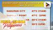 PTV INFO WEATHER: ITCZ umiiral pa rin sa malaking bahagi ng Mindanao, Visayas at Palawan; easterlies, patuloy na magdadala ng mainit at maalinsangang hangin sa Luzon