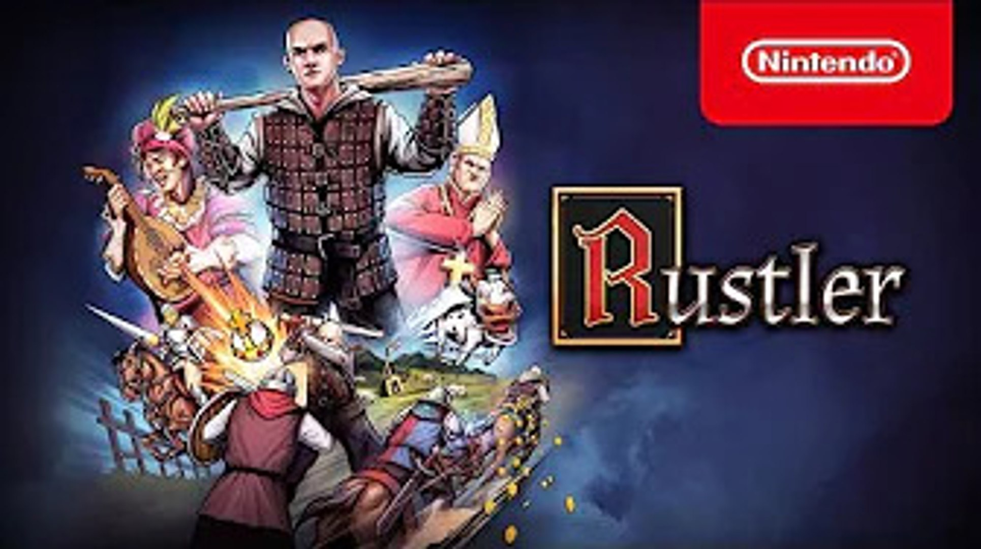 Rustler - Release Date Trailer - Nintendo Switch