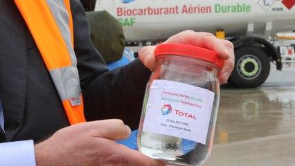 Premier vol d'Air France avec des huiles de cuisson usagées : «Pas la solution miracle», selon une ONG