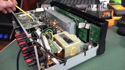 EEVblog 1394 - Onkyo Receiver Repair - Part 1