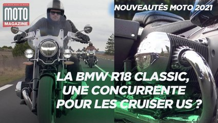 BMW R18 CLASSIC, une vraie concurrente pour les Cruiser américains - Essai Moto Magazine