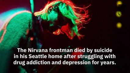 The Day Kurt Cobain Died By Suicide