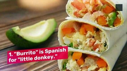7 Fun Facts About Burritos
