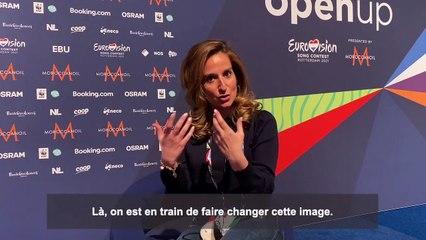 Eurovision 2021 : l'interview d'Alexandra Redde-Amiel, Directrice des divertissements de France Télévisions