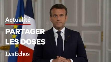 La France va donner au moins 30 millions de doses de vaccins à Covax, annonce Emmanuel Macron