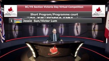 Novice Pairs Short Program - 2021 belairdirect BC/YK Section Victoria Day Virtual Event (18)