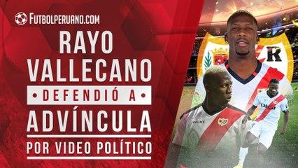 Luis Advíncula: Rayo Vallecano salió en defensa del lateral derecho de la Selección Peruana