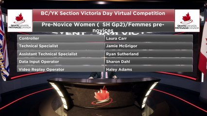 Pre Novice Women Short Group 2 - 2021 belairdirect BC/YK Section Victoria Day Virtual Event (20)