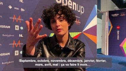 Eurovision 2021 : Barbara Pravi en direct de Rotterdam