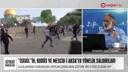 """""""İsrail""""in Kudüs ve Mescid-i Aksa'ya Yönelik Saldırıları"""