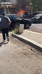 Ostia, via Umberto Cagni, il video dell'esplosione del furgone