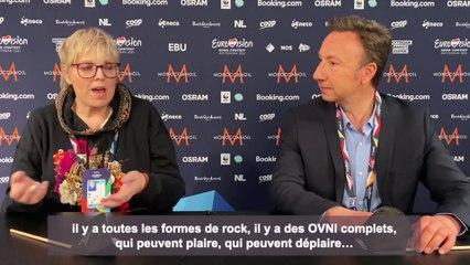 Eurovision 2021 : l'interview de Laurence Boccolini et Stéphane Bern, en direct de Rotterdam