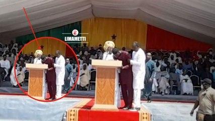 Urgent ! Ziguinchor : Ousmane Sonko pique une crise en plein discours