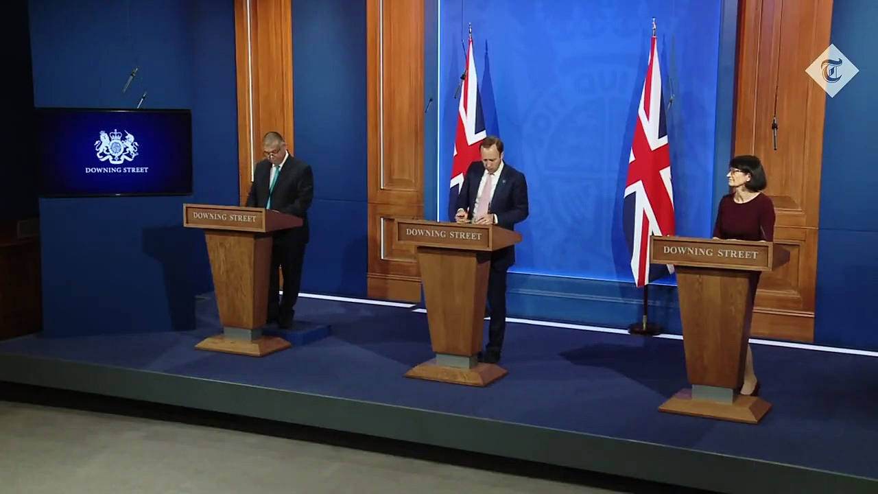 In Full: Matt Hancock Leads Downing Street Covid-19 News Briefing