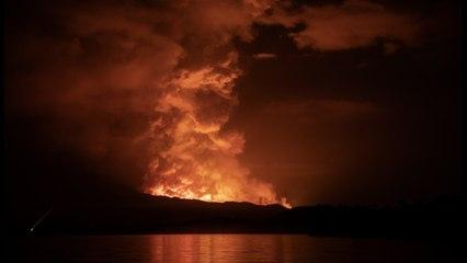 Eruption du Nyiragongo : la ville de Goma évacuée