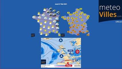 bulletin meteo de lundi 24 mai 2021