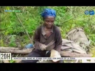RTG/ Agriculture - La responsable de la coopérative ANGOUNOU, Mi Jeanne explique son amour pour la terre