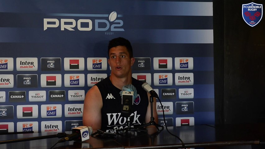 Rugby : Video - Adrien Se?guret - barrage Biarritz