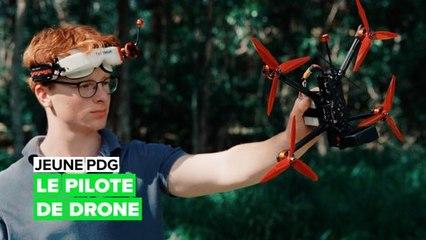 Jeune PDG : le champion des courses de drones