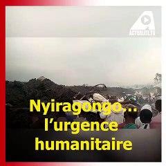 Des images impressionnantes de Goma: mouvements sismiques encore permanents, des fissures visibles