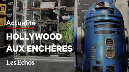 Star Wars, Indiana Jones... Des milliers d'objets cultes d'Hollywood aux enchères
