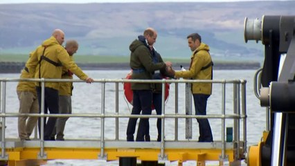 'Call me Catherine' - Kate charms kids during Orkney visit
