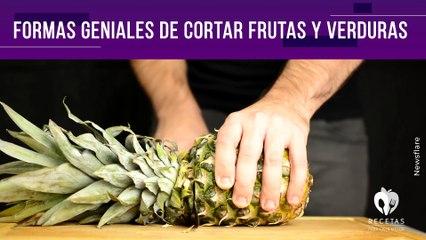 Formas geniales de cortar frutas