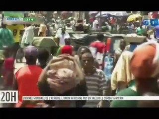 RTG/ Célébration de la journée mondiale de l'Afrique - l'union africaine met en valeur le combat Africain