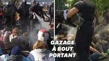 L'aéroport de Chambéry bloqué, les manifestants délogés avec des gaz lacrymogènes
