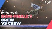 Battle Pro France 2020 -  Demi-finale crew 2 : Melting Force vs Immigrandz