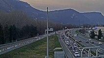 Chassé-croisé des vacances d'hiver : la traversée de Grenoble toujours aussi compliquée