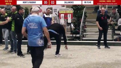 Mont-sous-Vaudrey VS Sallanches 5ème tour : L'Hivernal Pétanque by « La Genevoise » 2020